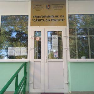 """Instituția de educație timpurie nr.128 """"Căsuța din poveste"""""""